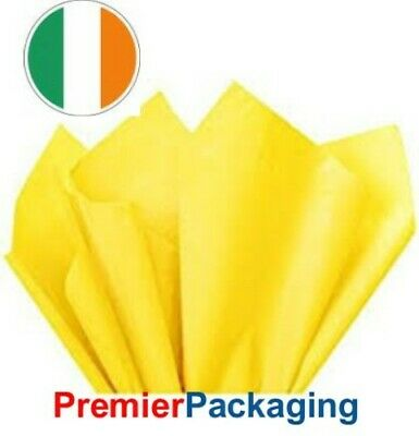 Yellow Tissue Paper 450mm x 700mm
