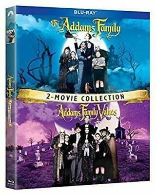ADDAMS FAMILY / ADDAMS FAMILY VALUES  BLU RAY  Region B (AUS) New & Sealed