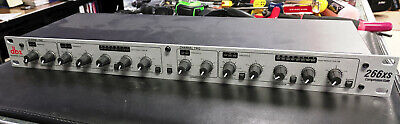 "Dbx 266xs Kompressor / Tor, Overeasy, Stereo/Doppelt Mono, XLR Or ¼"", LED Zeigt"