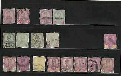 British Commonwealth Johore Malay States 1891-1922 early coll