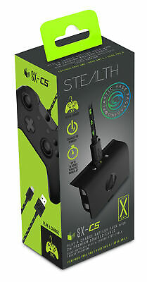 Stealth SX-C5 Single Play & Charge Battery Pack Black (XBOX ONE)