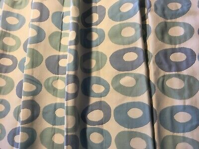 A Pair of Fully-Lined Double Pleat John Lewis Curtains, Used (2 Pairs Available)