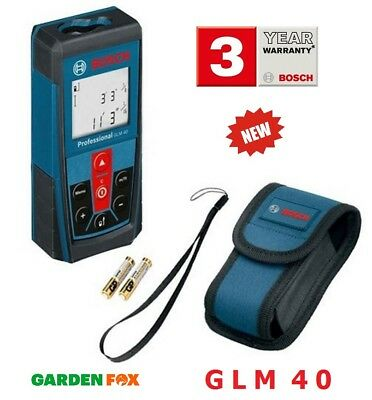 OPENED - Bosch GLM 40 Professional Laser Measure 0601072900 FN D2