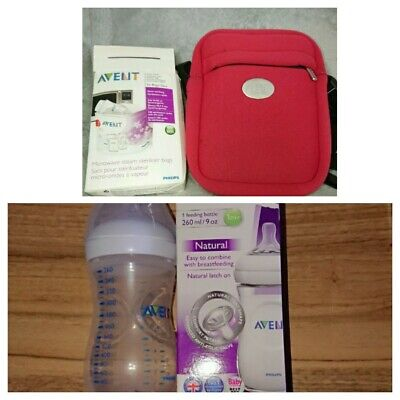 Avent Thermabag & Microwave Steriliser Bags Reusable 100 Times