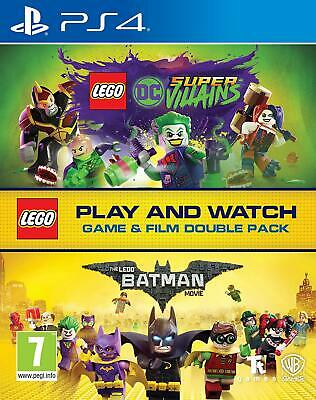 Lego DC Super-Villains Game & Film Double Pack (PlayStation 4) - Pre Order