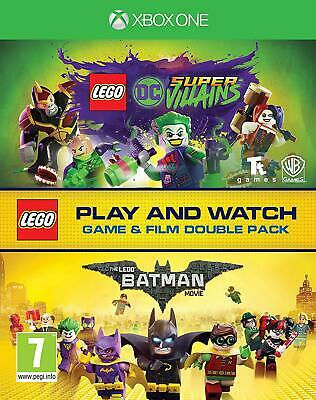 Lego DC Super-Villains Game & Film Double Pack (XBOX ONE) - Pre Order