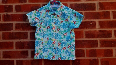 Vintage Disney The Little Mermaid Blue shirt 4-5 years