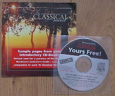 1996 Intro Classical Mood Summer's Evening & Reflections (Promo) Bach Mozart