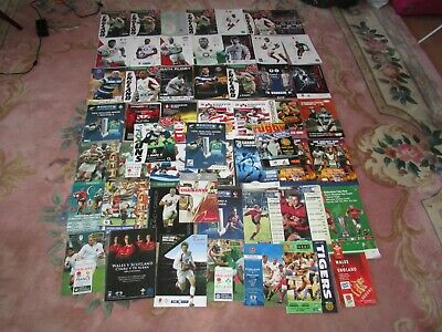 Big Joblot Of Rugby Programmes Mainly England X 53