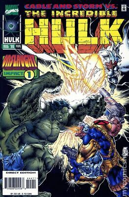 The Incredible Hulk Issue 444 - Aug 1996 - Marvel - Very Fine - Backed & Bagged