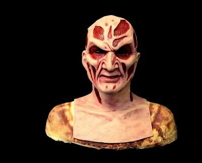 WFX New Nightmare Freddy Silicone Krueger Mask With Detailed Airbrushing