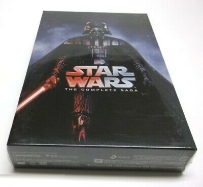 Star Wars: Complete Saga Episodes 1-6 Movie Box Set (DVD, Region 1) Brand NEW