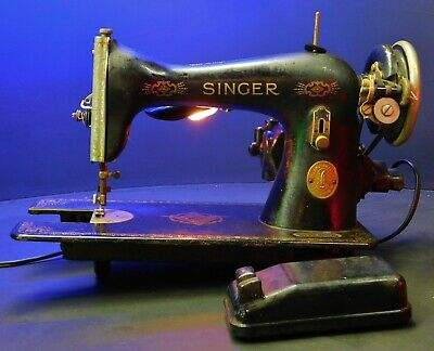 Vintage AE Singer Sewing Machine