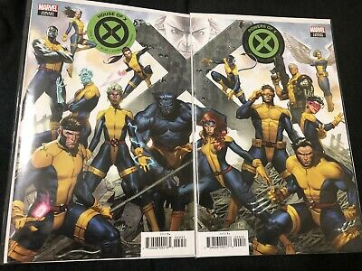 House Of X #4 & Powers Of X #4 Molina Connecting Variant Set!🔥NM,