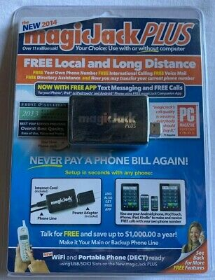 magicJack S1013 VoIP USB Adapter Phone and Device