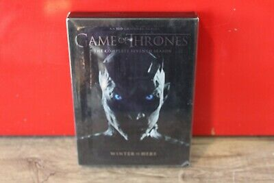 Game of Thrones: The Complete Seventh Season (DVD, 2017, 4-DISC SET) GOOD!