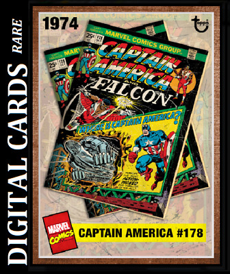 Topps Marvel Collect Card Trader Archives Captain America #178  [Digital]