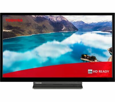 """TOSHIBA 24WD3A63DB 24"""" Smart HD Ready LED TV with Built-in DVD Player"""