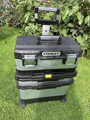 Stanley Work Box Tower. Chest Including Prtable Tool. Ox