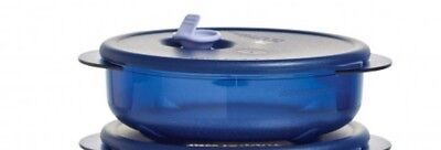 Tupperware Vent N Serve Small Round 1 3/4 Cup Freeze Fridge Microwave Leftovers
