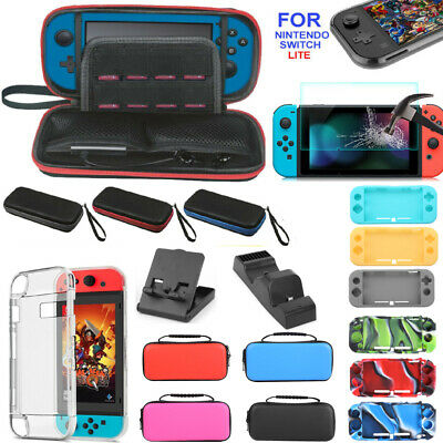 Accessories for Nintendo Switch Lite Carrying Case Bag Protector Shell Cover
