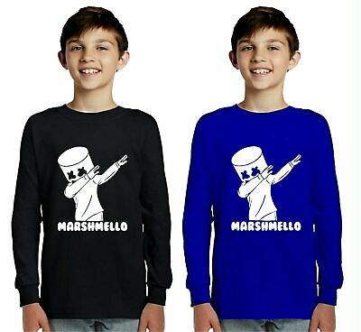 Kids Marshmello Jumper DJ Mellow Dance House Music Tour Sweatshirt Jumper