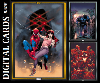 Topps Marvel Collect Card Trader Comic Book Day Spider-Man Gold+ 2 Silver