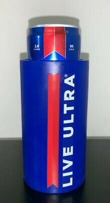 1 Michelob Ultra Golf Cart Slim Can Coozie Koozie Coolie Beer LIVE ULTRA
