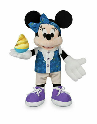 "Walt Disney Parks 2019 Minnie Mouse 15"" Plush Toy Dole Pineapple Whip (NEW/TAGS)"