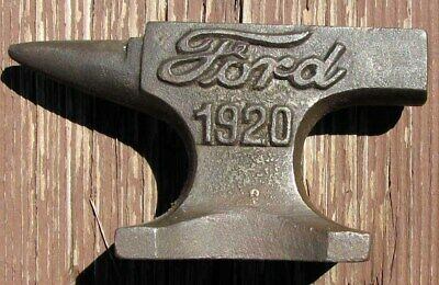 Rare Ford Cast Iron Anvil Advertising Paperweight Nice L@@K #F119