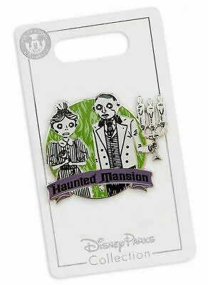 Disney Parks The Haunted Mansion 50th Anniversary Ghost Hosts Pin