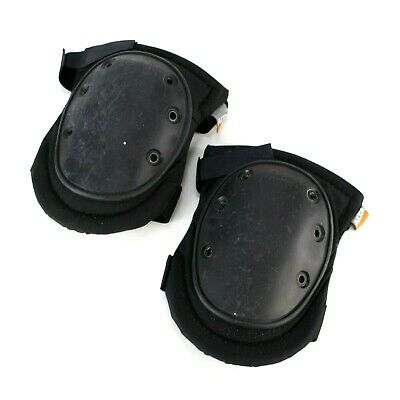 Left/Right Pair Alta Industries Heavy Duty Tactical Police Knee Pads Black