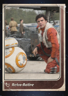 STAR WARS Card Trader Retro-Active 2019 Marathon BB-8 and Poe