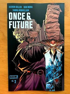 ONCE AND FUTURE  # 2 Dan Mora Main Cover A 1st print BOOM! STUDIOS 2019 NM+