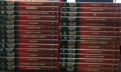 Stephen King dvd collezione lotto. 30 film. It Shining Brivido Carrie Salem's