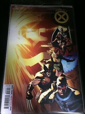 HOUSE OF X 3A MAIN FIRST 1st print VF MARVEL COMICS 2019 Hickman Powers X-men