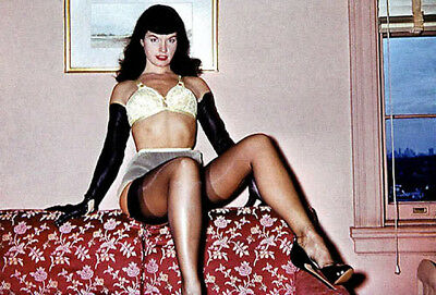 Vintage Bettie Page Photo 651 Oddleys Strange & Bizarre 4 x 6