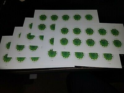 USPS New Global Forever Green Succulent (7) Panes of 10