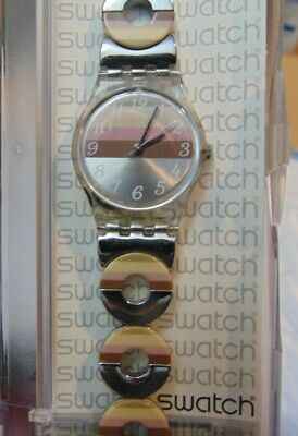 SWATCH WATCH - SWISS Made Stainless Steel Band - New / Old Stock
