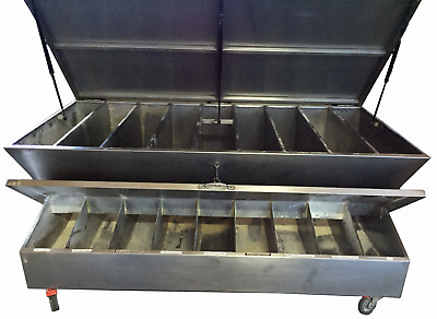 Heavy Duty Stainless Steel Dry Ingredient Bench