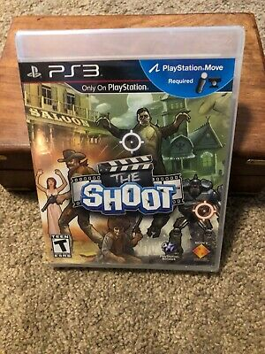 The Shoot for Sony PlayStation Move 3 PS3 New & Sealed, MINT CONDITION Shooter