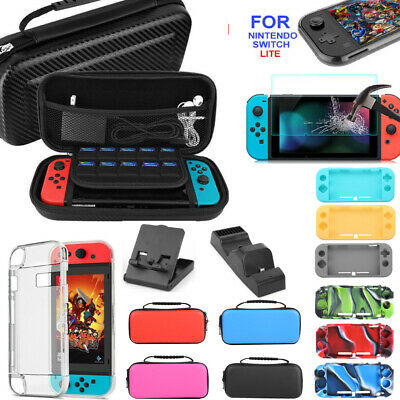 Accessories for Nintendo Switch Lite Carry Case EVA Bag Protector Shell Case Kit