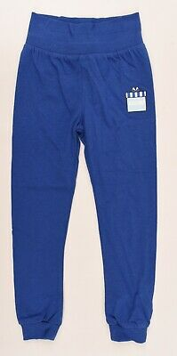MOSCHINO BABY Baby Girls' Cotton Skinny Jogger Pants, Blue, size 3 years