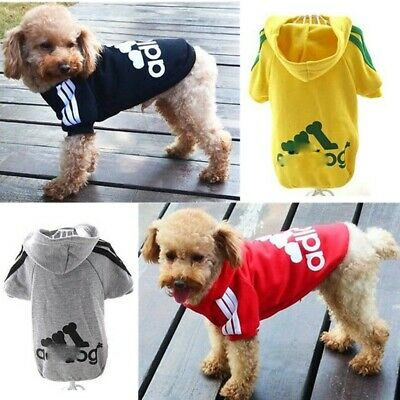 Small Large Dog Winter Hoodie Clothes Apparel Pet Warm Sweater Coat Jacket S-9XL