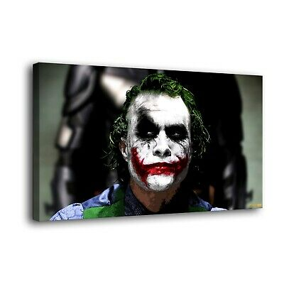 "DC Batman Joker Paintings HD Print on Canvas Home Decor Wall Art Picture16""x28"""
