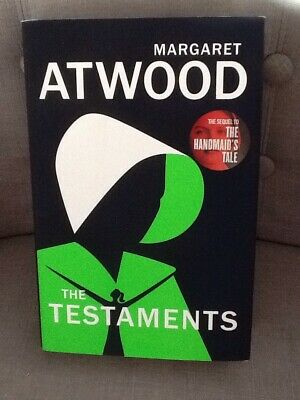 Margaret Atwood The Testaments The Sequel To The Handmaid's Tale Hardback New