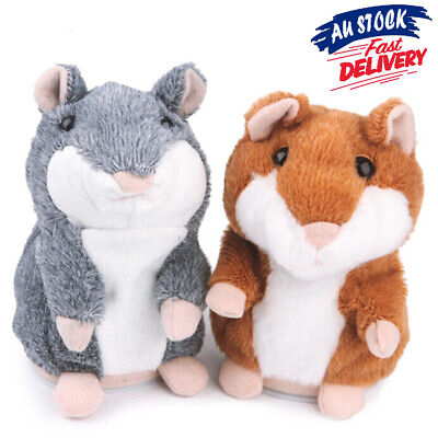 Talking Hamster Nod Mouse Chat Mimicry EA Pet Record Plush Toy Xmas Gift Cute