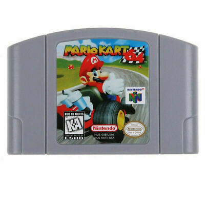 USA Version N64 SUPER Mario series Game Card Video Cartridge for Nintendo 64