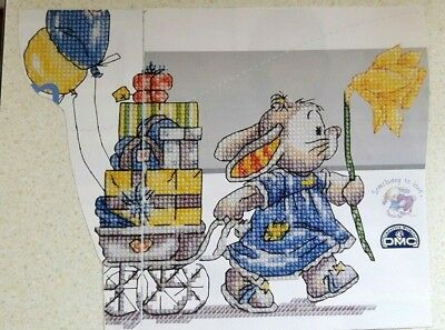 (C) Somebunny to love cross stitch chart - from magazine - please read!