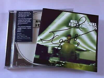 Noel Gallagher High Flying Birds CD Album (Signed Autographed) By Noel Gallagher
